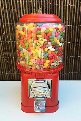 BEAVER SWEET MACHINE *WITH NEW PARTS* SWEET VENDING DISPENSING CANDY GUM BALL 50