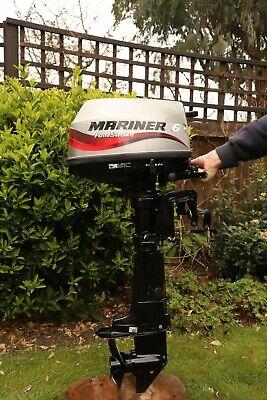 Mariner 6hp, 4 Stroke, Short Shaft Outboard Motor/ Engine