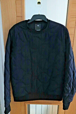 Maharishi Sweat Shirt Quilted crew Padded Majo TECH XL Extra Large £265