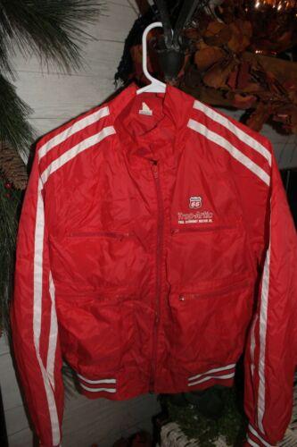 VTG Stripes Phillips 66 Trop Artic Motor Oil Nylon M windbreaker jacket vintage