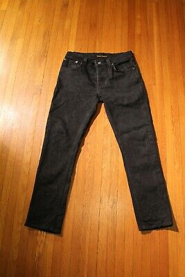 W31 /& W34 New Nudie Mens Slim Straight Fit JeansSlim Jim Superused Grey