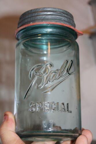 Antique, 1 qt Wide Mouth, (Ball Special), Mason Jar NOS Lid & Seal, Item#A -2385