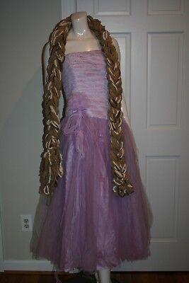 Disney Princess Rapunzel Deluxe Adult Costume Size 4 or 8 - Rapunzel Costume Women