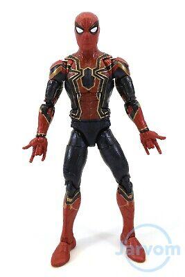 "Marvel Legends 6"" Inch Thanos BAF Wave Iron Spider Man Avengers Loose Complete"