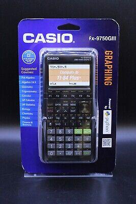 Casio FX-9750GIII Graphing Calculator - White
