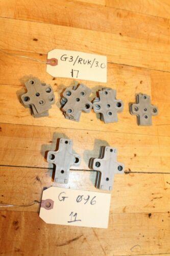 Grass Hinge vintage plastic parts, G096, G3 RUK30