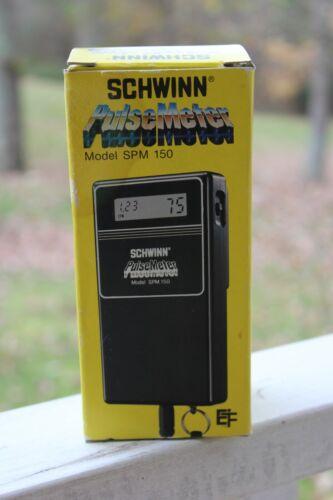 VINTAGE SCHWINN PULSE METER MODEL SPM 150 EXERCISE EXCELSIOR R18365