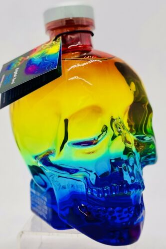Crystal Head Vodka EMPTY bottle Gay Pride Rainbow very rare limited hard to find