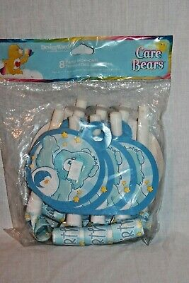 NEW BOYS CARE BEARS  BIRTHDAY BLOWOUTS  PARTY SUPPLIES