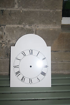 VINTAGE ENAMEL STYLE CLOCK FACE   REPLACEMENT PAINTED ON ALUMINIUM VVGC