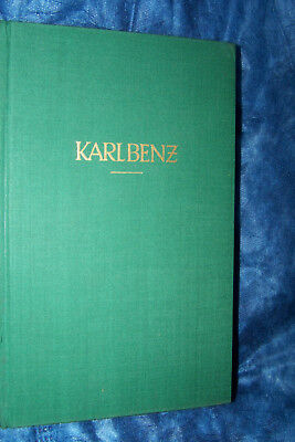 1942 1950 Karl Benz Paul Siebertz Buch gebunden deutsch antik original