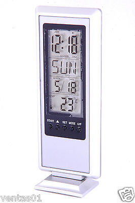 Calendar Desk Digital Clock with Alarm, Snooze, Countdown & World Time JS2423