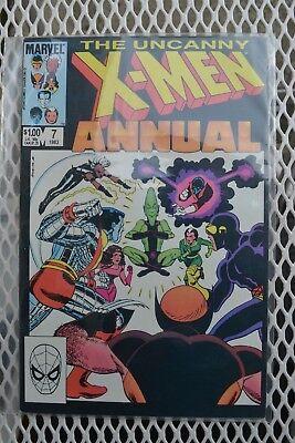Uncanny X-Men Annual #7 1983 Marvel VF