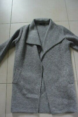 Gros gilet veste gris clair Taille unique. Bien chaud !!! Comme neuf