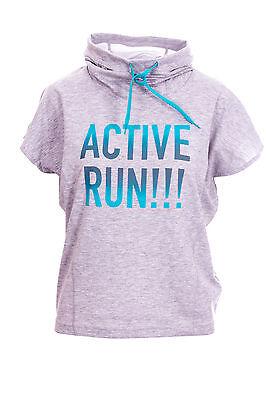 (R4) Crivit Damen Shirt Fitness Sport Kurzarm Pullover Pulli T-Shirt Freizeit