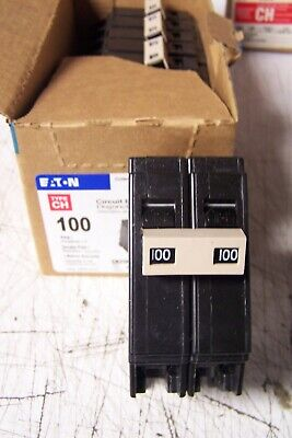 New Cutler Hammer 100 Amp Circuit Breaker 2 Pole 120240 Vac Ch2100
