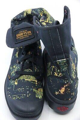 Palladium SSUR PLUS NYC Skyline Camouflage Boots US10