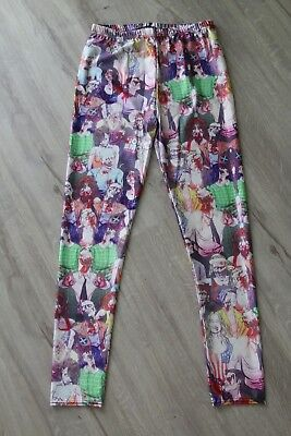 M/L 38 40 Leggings Horror Party Leggins Hose - Halloween Leggings
