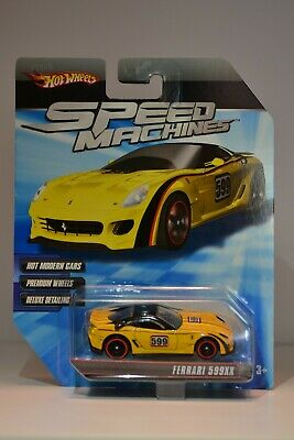 Mattel - Hot Wheels - Speed Machines - Ferrari 599XX