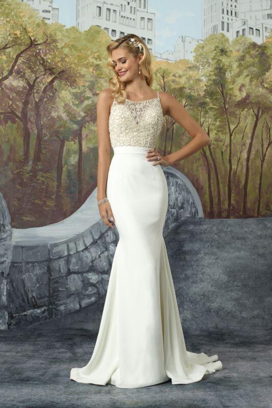 Justin Alexander Wedding Gown #8935