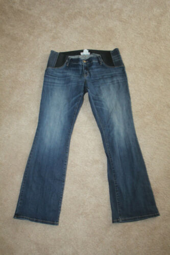 isabel maternity skinny bootcut jeans 14