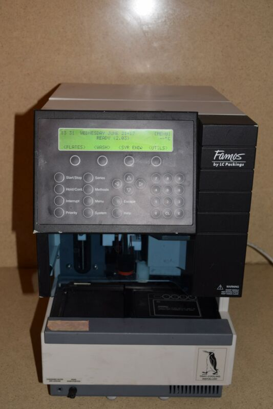 LC PACKINGS MODEL FAMOS # 920 WELL PLATE HPLC AUTOSAMPLER