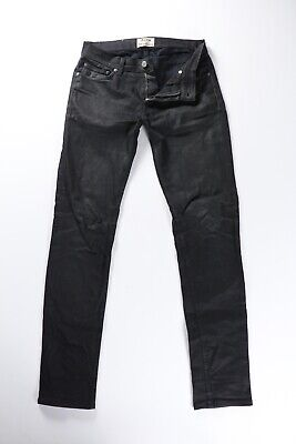 Acne Studios Ace Cash Black Stretch Denim Jeans 29 30 x 32 $230