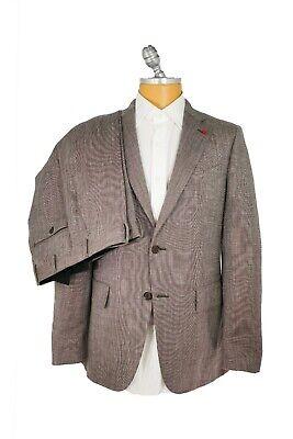 Linen Silk 2 Button Suit (New ISAIA Suit  Wool  Linen Silk Size 42 Us 52 Eu  2 Buttons (ISAA9) )