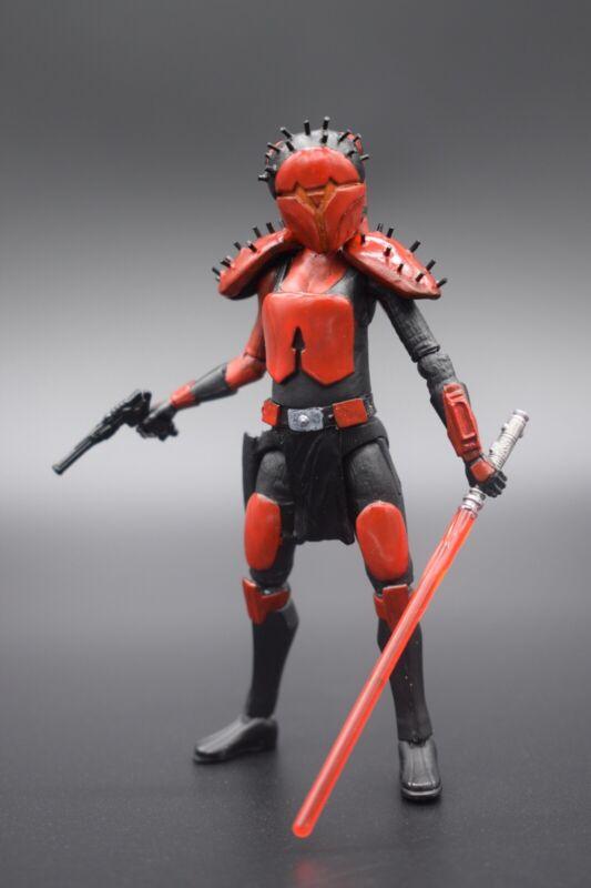 """Resurrected Aayla Secura"" In BH Armor custom Star Wars action figure 3.75"""