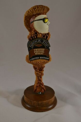 Shock Top Twisted Pretzel Wheat Beer Tap Handle Small Brand New! Free Shipping!