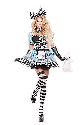 Sexy Adult Halloween Starline Women's Glam Alice in Wonderland Costume w Bow](Starline Halloween Costumes)