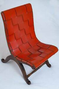 Vintage Leather Occasional Chair