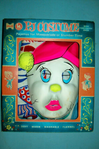 Vintage 1960s Humpty Dumpty Halloween Costume by Halco