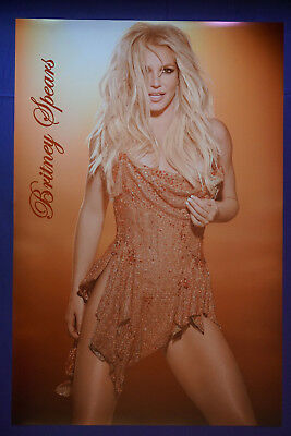Britney Spears Sexy Celebrity Model Music Singer Tour Picture Poster 24 X 36 New