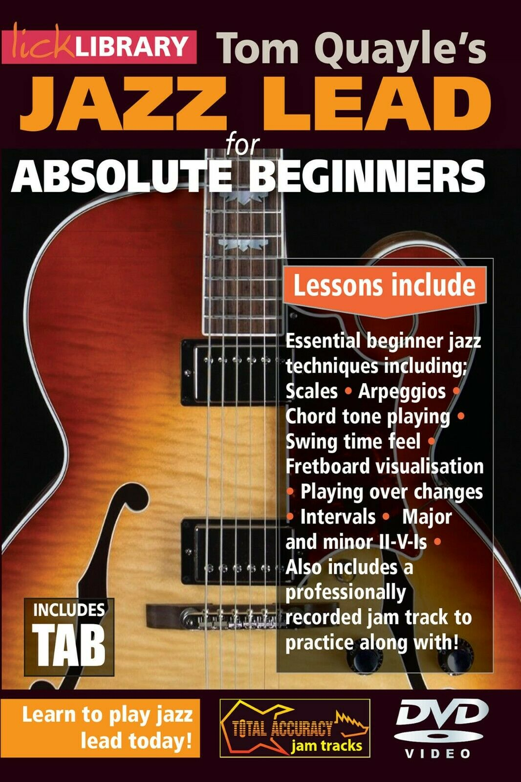 Image Tom Quayle: Tom Quayle: Jazz Lead For Absolute Beginners: Guitar: Instrumental