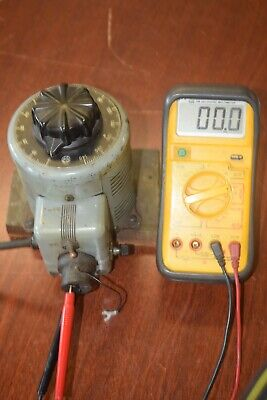 Powerstat Variable Autotransformer 116 - 7.5 Amp - Tested Working
