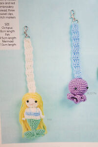 Baby's Dummy Holder Toys Crochet Pattern