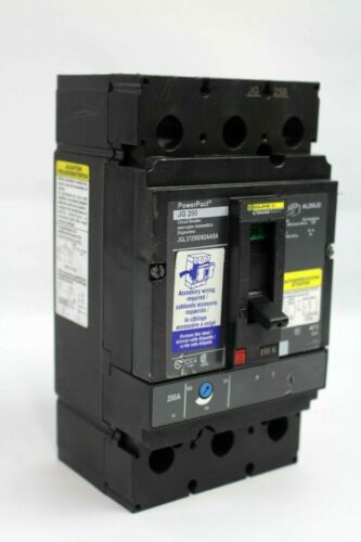 Schneider Electric Square D PowerPact JG 250 Circuit Breaker