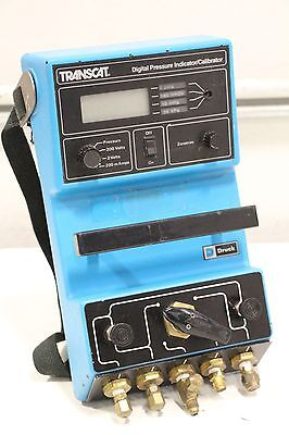 Druck Inc Transcat Digital Pressure Indicator Calibrator Model Dpi 600 Tr