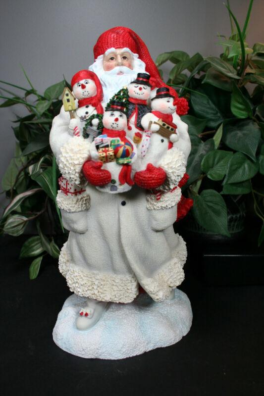 Pipka Santa Snowman Santa 13989