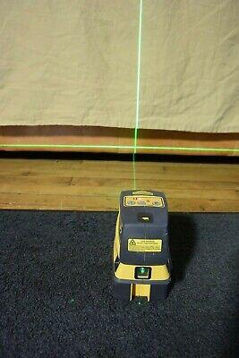Spectra Precision Trimble Crosshair 5 Dot Green Beam Laser Level Model Lt52g