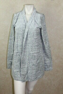 - Light Grey LOFT Cardigan 77% Cotton 23% Polyester XS _________ B6A4