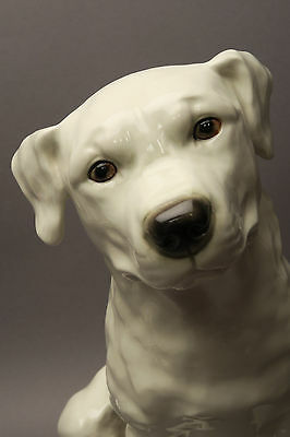 Goebel Porzellanfigur Rottweiler Welpe weiss ca 30 cm H
