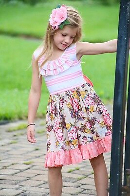 NWT Girl's Be Girl Clothing Bexley Dress $46 - Choose Size (Be Girl Clothing)