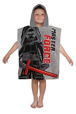LEGO STAR WARS Superweich Kapuzen Poncho Strandbad Urlaub Handtuch Jungen