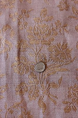 "French 19thC Antique Home Furnishing Woven Jacquard Fabric c.1870~13""LX25""W"