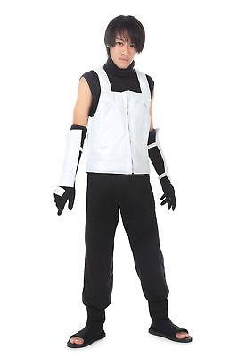 Naruto Shippuden Cosplay Costume Hatake Kakashi Anbu Black Ops Outfit V2 - Naruto Black Ops Kostüm