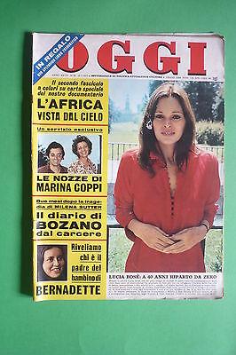 Oggi 29/1971 Lucia Bose 'Rosanna Schiaffino Brigitte Bardot Walter Bright Valli comprar usado  Enviando para Brazil