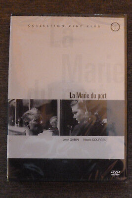 DVD la marie du port neuf emballé 1949 jean gabin