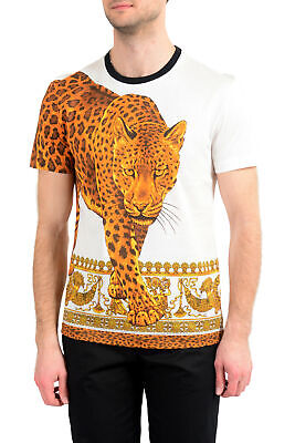 Versace Men's Multi-Color Crewneck T-Shirt US S M L XL 2XL